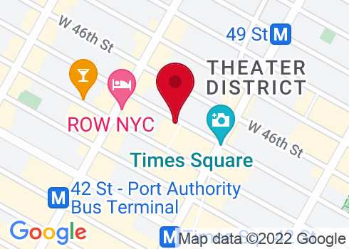 Booth Theatre Google Maps Location