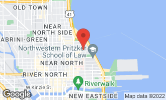 Map of 222 East Chestnut Street 13A CHICAGO, IL 60611