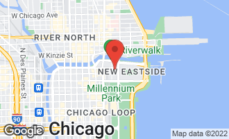 Map of 222 North Columbus Drive #4702 Chicago, IL 60601