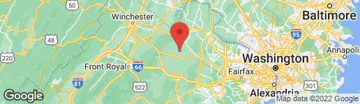 Map of 22215 ST LOUIS ROAD MIDDLEBURG, VA 20117