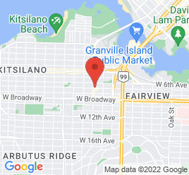 Google Map of 2222+Burrard+St.%2CVancouver%2CBritish+Columbia+V6G+5A6