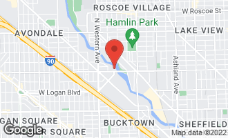 Map of 2222 West Diversey Avenue #311 CHICAGO, IL 60647