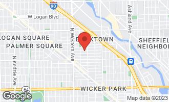 Map of 2223 West Charleston Street CHICAGO, IL 60647