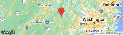 Map of 22241 ST LOUIS ROAD MIDDLEBURG, VA 20117