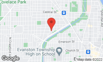 Map of 2226 Payne Street EVANSTON, IL 60201