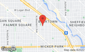 Map of 2227 West Shakespeare Avenue CHICAGO, IL 60647