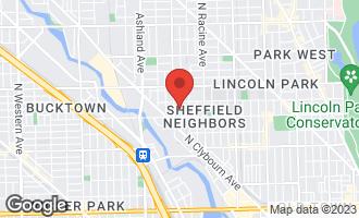 Map of 2230-32 North Wayne Avenue CHICAGO, IL 60614