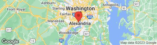 Map of 2232 ROLLINS DRIVE ALEXANDRIA, VA 22307