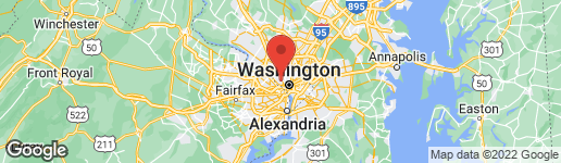 Map of 2233 40TH PLACE NW #3 WASHINGTON, DC 20007