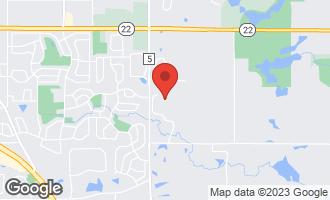 Map of 22358 North Prairie Lane KILDEER, IL 60047