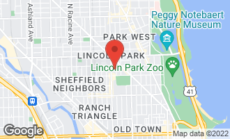 Map of 2236 North Burling Street CHICAGO, IL 60614