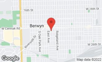 Map of 2237 Scoville Avenue BERWYN, IL 60402