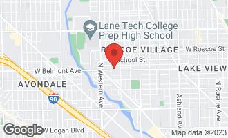 Map of 2238 West Belmont Avenue 2E CHICAGO, IL 60618