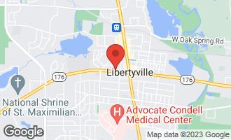 Map of 224 W Park Avenue LIBERTYVILLE, IL 60048