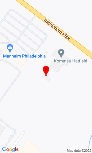 Google Map of Midlantic Machinery Company 2240 Bethlehem Pike, Hatfield, PA, 19440