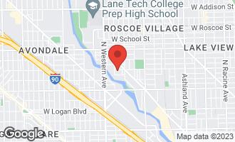 Map of 2241 West Wellington Avenue CHICAGO, IL 60618