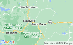 Map of Brown County KOA