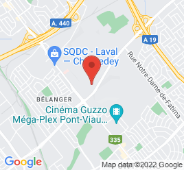 Google Map of 225+Boulevard+Saint-Martin+W%2CLaval%2CQuebec+H7M+1Z1