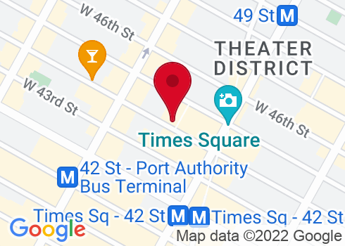 Shubert Theatre Google Maps Location