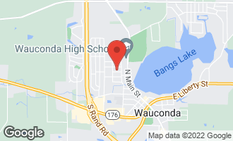 Map of 225 George Avenue WAUCONDA, IL 60084