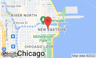 Map of 225 North Columbus Drive #6606 CHICAGO, IL 60601
