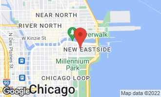 Map of 225 North Columbus Drive #7401 CHICAGO, IL 60601