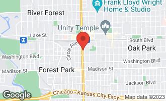 Map of 225 South Maple Avenue C OAK PARK, IL 60302