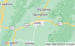 Map of Yogi Bear's Jellystone Park in Luray, VA