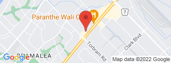 Google Map of 2250+Queen+Street+East%2CBrampton%2COntario+L6S+5X9