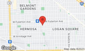Map of 2254 North Springfield Avenue CHICAGO, IL 60647