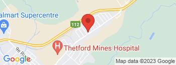 Google Map of 2257+Rue+Notre-Dame+Est%2CThetford+Mines%2CQuebec+G6G+2W4
