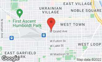 Map of 2258 West Grand Avenue #1 Chicago, IL 60612