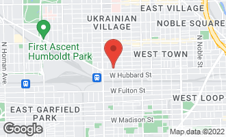 Map of 2258 West Grand Avenue CHICAGO, IL 60612