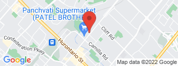 Google Map of 225B+Dundas+St+East%2CMississauga%2COntario+L5A+1W8