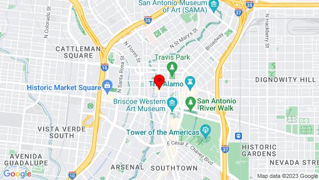 Google Map of 226 N. St. Mary's St., San Antonio, TX 78205