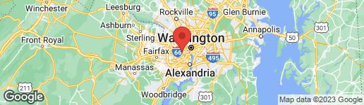 Map of 226 THOMAS STREET N 226-1 ARLINGTON, VA 22203