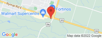 Google Map of 2260+Rymal+Road%2CHamilton%2COntario+L8J+2P7