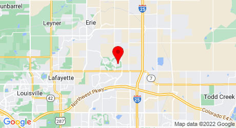 Google Map of 2265 Dogwood Circle Erie, CO 80516