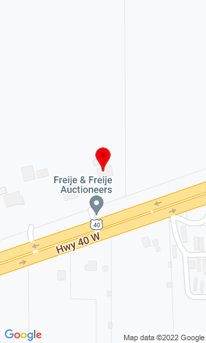 Google Map of Freije & Freije Auctioneers 2268 west us hwy 40, Clayton, IN, 46118