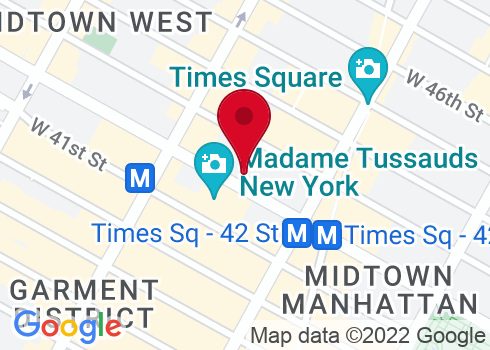 American Airlines Theatre Google Maps Location