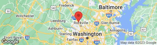 Map of 227 SUMMIT HALL ROAD GAITHERSBURG, MD 20877