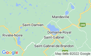 Map of Camping Saint-Gabriel