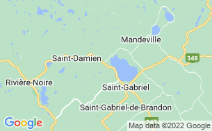 Map of Camping St Gabriel