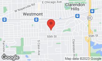 Map of 228 Oak Avenue WESTMONT, IL 60559