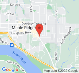 Google Map of 22855+Lougheed+Highway%2CMaple+Ridge%2CBritish+Columbia+V2X+2V7