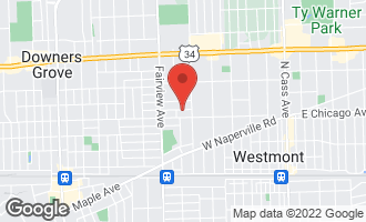 Map of 229 Indianapolis Avenue DOWNERS GROVE, IL 60515