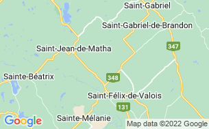Map of Camping Aux Bouleaux