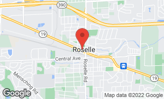 Map of 22W386 Irving Park Road ROSELLE, IL 60172