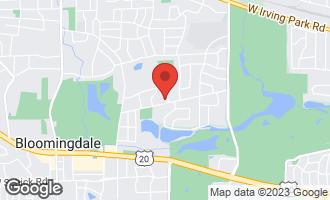 Map of 22W424 Broker Road MEDINAH, IL 60157