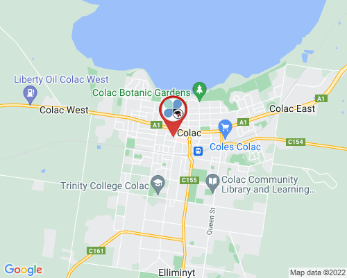 Colac google map